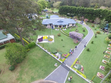 Drone footage from Adrian Dinsmore's proposal using at drone at Kevin and Dianna Drew's Highfields garden.