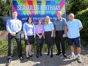 Birthday bash for Seagulls