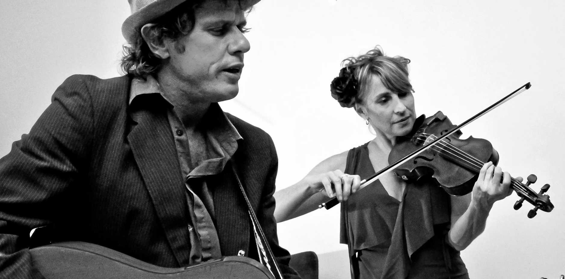 RENOWNED MUSO: David Flower becomes another one of the Sunday Folk entertainers.