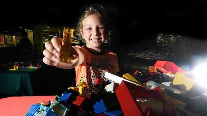 LET'S GO LEGO! Ruby Haigh, 7, of Goonellabah, loves Lismore