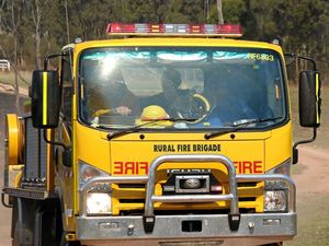 Emergency services working to contain grass fire