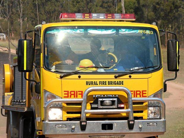 Fire crews attend cushnie grass fire the satellite