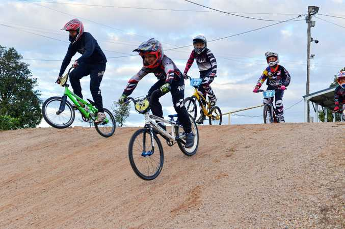 RIDERS will take to the track today when Cooloola BMX hosts its annual open day on Saturday.