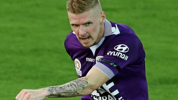 Perth Glory forward Andy Keogh will be a danger man for the Central Coast Mariners.