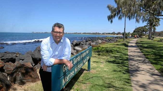 AMENITIES BLOCK: Federal Member for Hinkler Keith Pitt said the Bundaberg Regional Council had been successful and will receive $401,078 under round three for the redevelopment of Christsen Park Bargara.