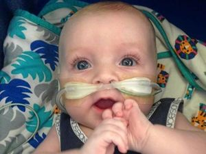 Baby who died from virus remembered at gala