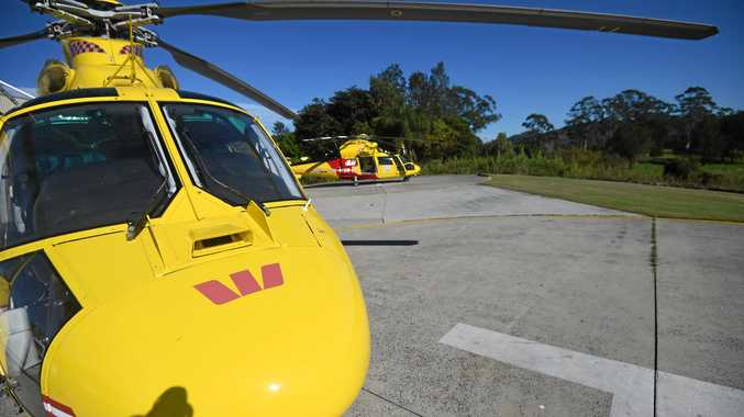 The Westpac Life Saver Rescue Helicopter Service was tasked to Kyogle on Friday afternoon.