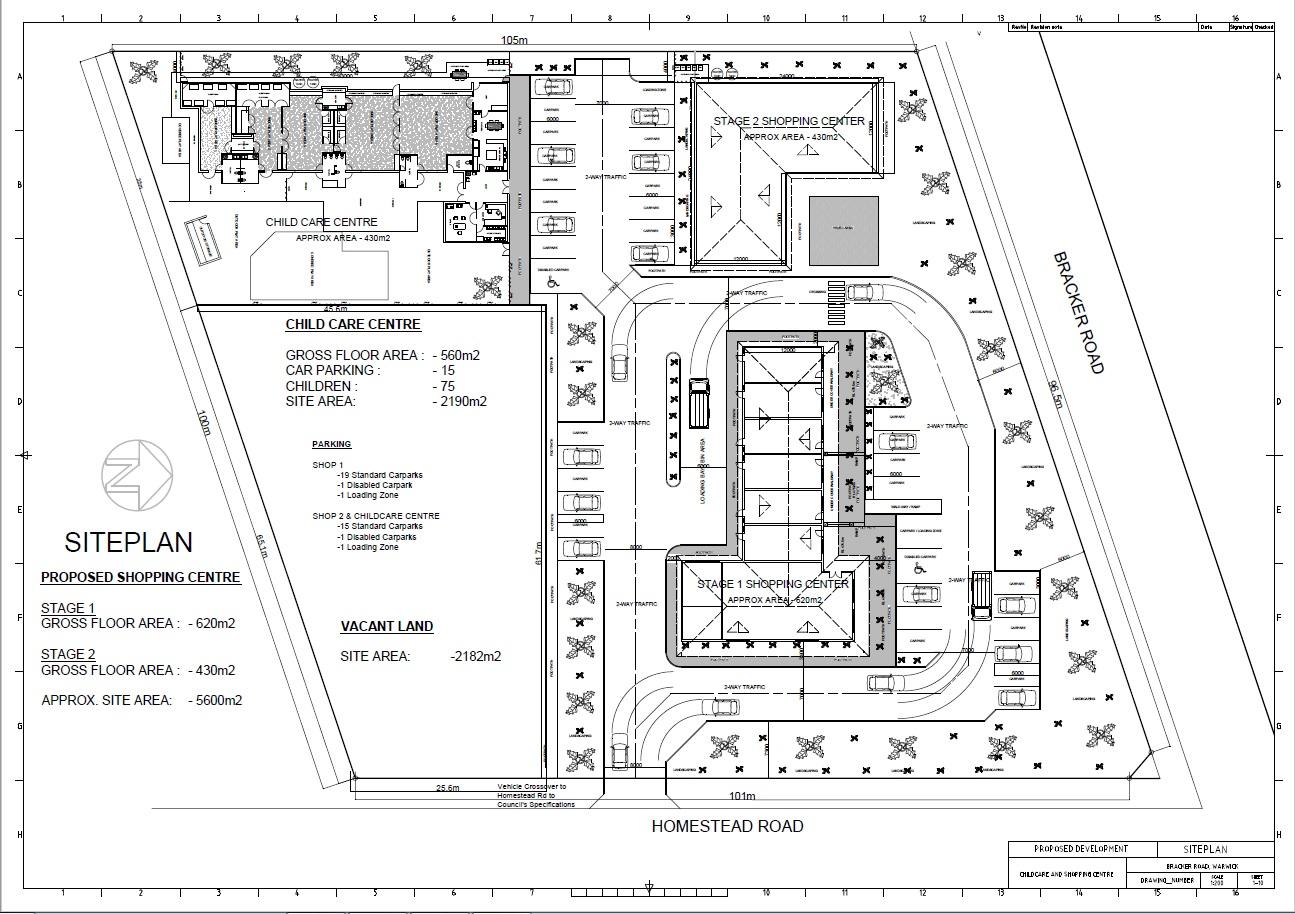 Work begins on new Warwick shopping precinct | Warwick Daily