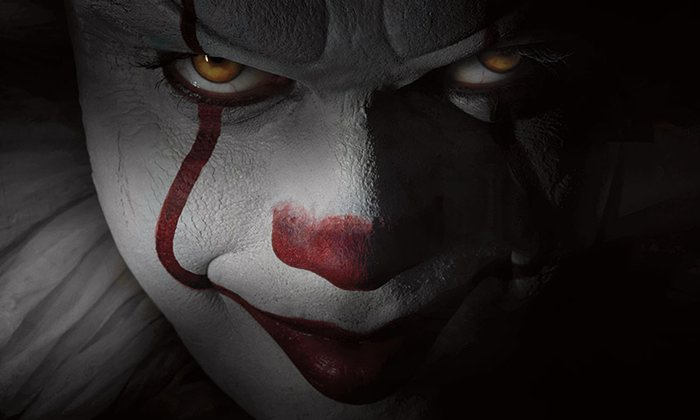 Pennywise the clown from Stephen King's novel It