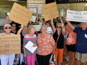 Angry protest and walkout at hospice crisis meeting