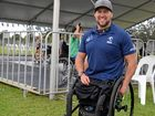 Gold medallist wheelchair rugby Paralympian Rylee Batt was happy to see the event had grown at We Care Day in Coffs Harbour on Saturday, October 8.