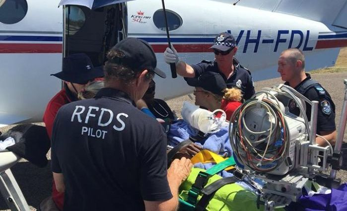The Royal Flying Doctor Service helped transport victims of the tragedy to Cairns and Townsville hospitals.
