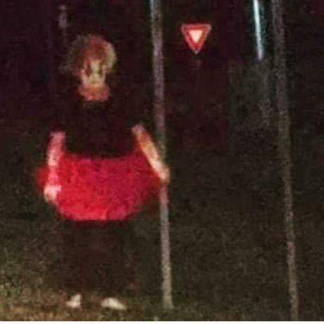Clown sighting caught on camera.