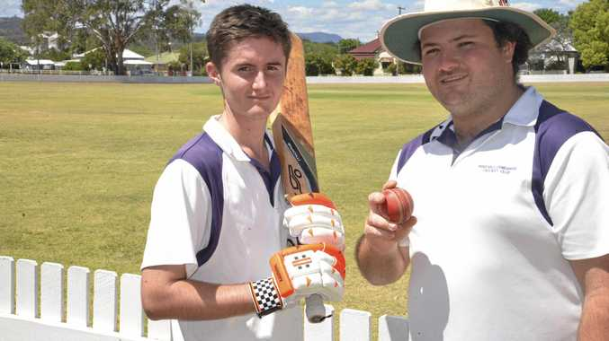 Pat Bourke and Dave Walker both played for the winning Davis Shield for Warwick against Lockyer on Sunday.