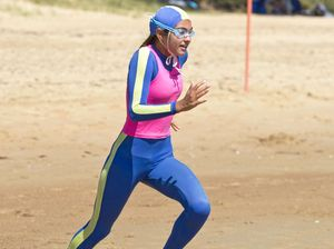 Nippers warm up to Mackay test