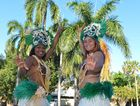 Generation II Generation dancers Ruta Tui and Ceah Talonga performed dances from the Cook Islands at Global Grooves last year.