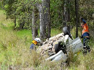Four escape serious injury in Tuchekoi rollover