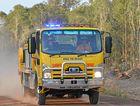 BUSH FIRE: Rural Firefighters attended a blaze off Kentucky Blue Grass estate near Bundaberg.