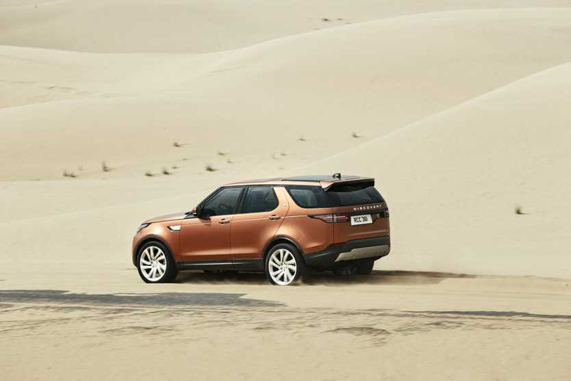 2017 Land Rover Discovery.Photo: Contributed