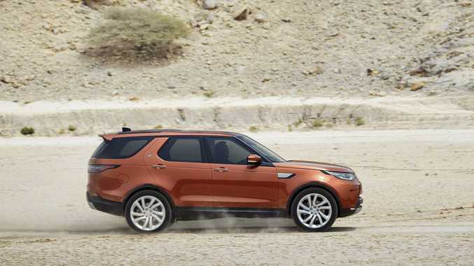 DISCO FEVER: A sleeker body design, seven-seat luxury and impressive off-road stats for the 2017 Land Rover Discovery, due here next July from $81,590.