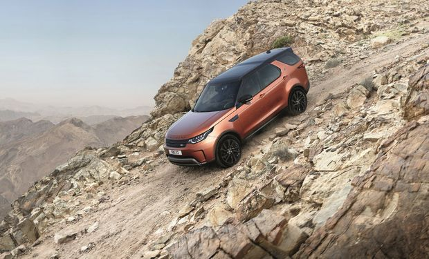 2017 Land Rover Discovery. Photo: Contributed