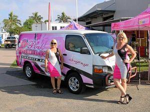 Pink van spreads awareness