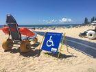 Disabled beach access at Burleigh