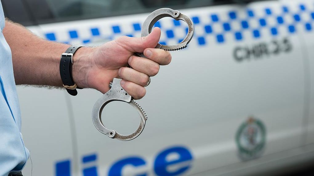 Police arrested two youths after they crashed a stolen car in Goonellabah.