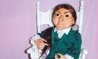 Letta Me Out doll is the world's second most haunted object.