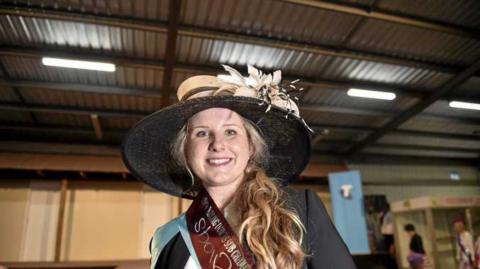 DALBY SHOWGIRL: Annie Fulton was named Miss Darling Downs Showgirl 2016 and went on to represent the region at the Brisbane Ekka in August.