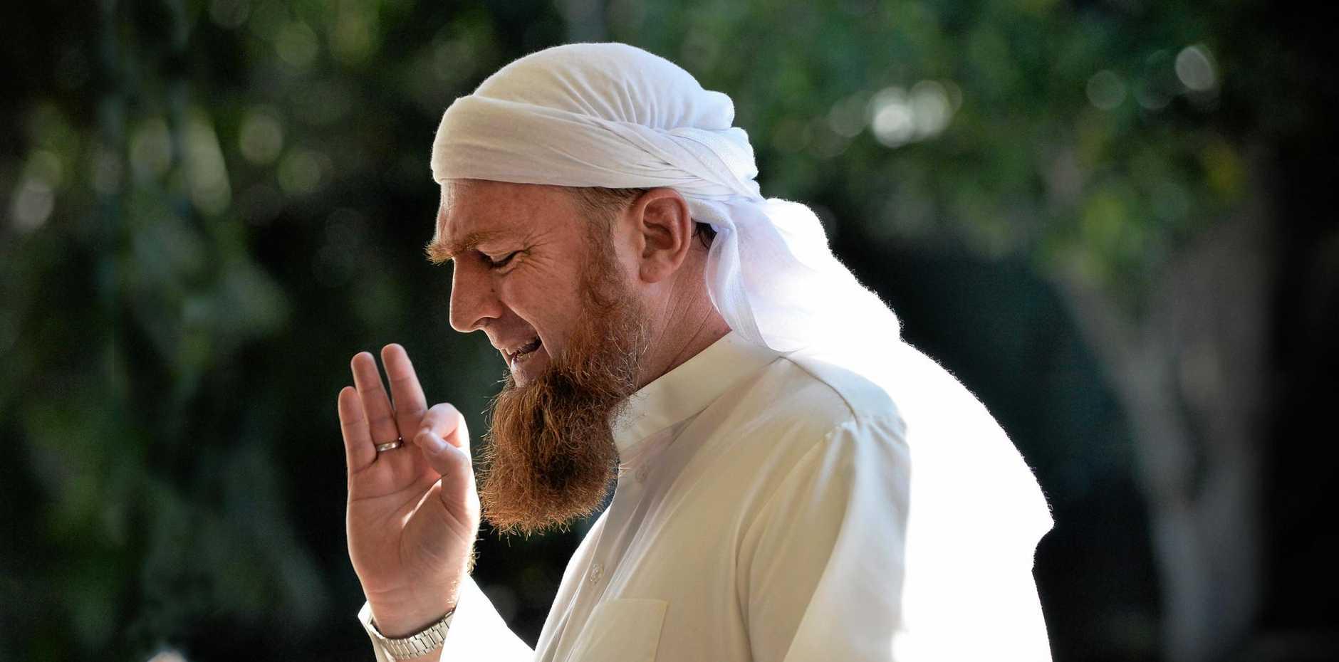 Sunshine Coast Muslim community leader Imam Zainadine Johnson.