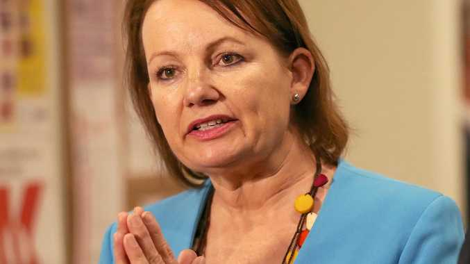 Sussan Ley has stayed on as the MP for Farrer and shows no sign of budging.