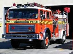 Firefighters in the New Zealand South Island town of Rangiora have put out a blaze at their own station.