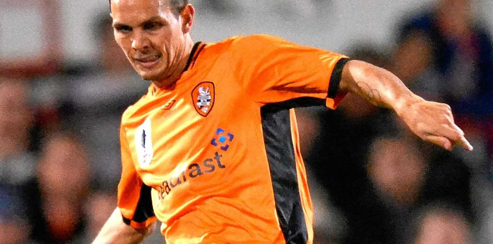 LIKELY SKIPPER: Jade North is looking forward to the Roar's clash with his old club, the Newcastle Jets, this weekend.