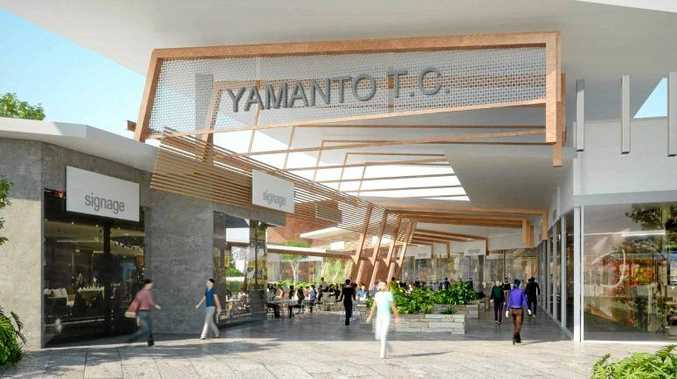 Artist's impression of the proposed Yamanto Town Centre