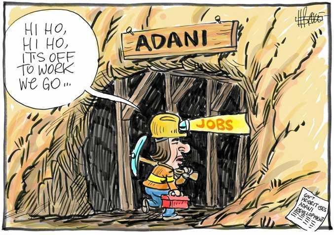 Cartoon: Harry Bruce