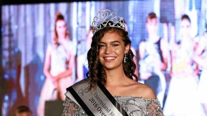Brooke Mackrill, winner of the junior section of the Miss Teen Australia Queensland state finals.