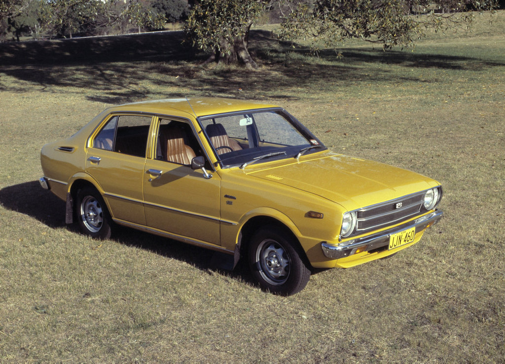 THE PEOPLE'S CAR: How half a century has seen the world's best-selling car - the Toyota Corolla - evolve over its eleven generations from 1966 to 2016