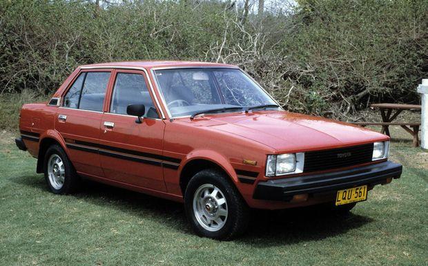 1983 Toyota Corolla KE70.Photo: Contributed
