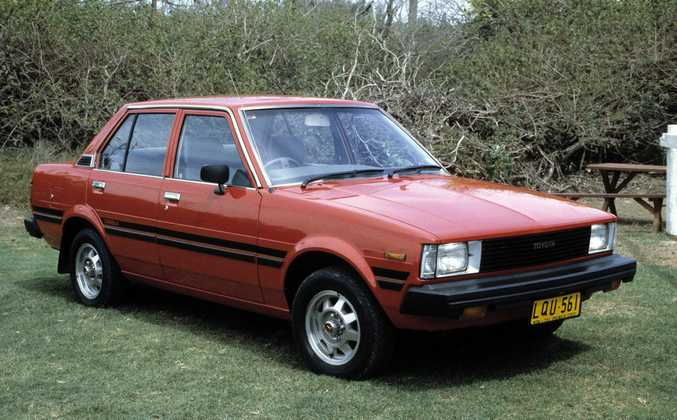 1983 Toyota Corolla KE70.Photo: Contributed