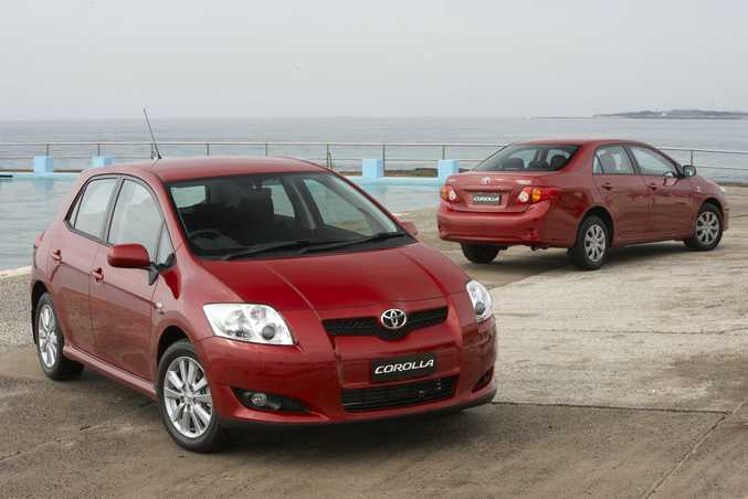 2007 Toyota Corolla Levin ZR hatch and Ascent sedan.Photo: Contributed