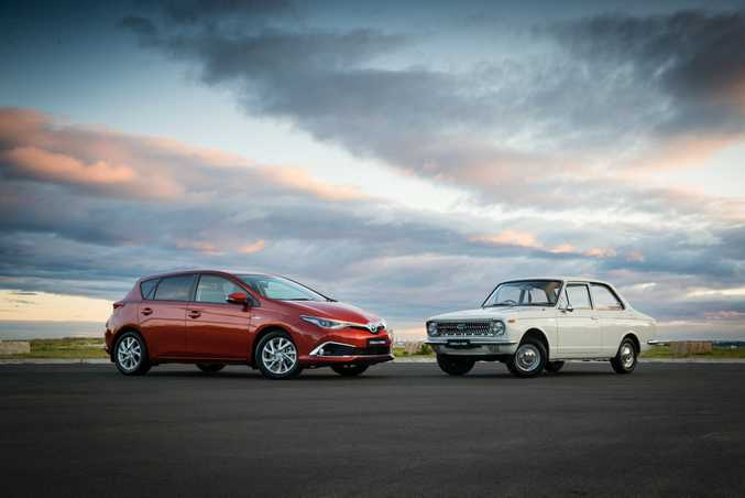 FOUR STRAIGHT? Toyota's Corolla could score a fourth straight win on Australia's best-seller list, but is only marginally ahead of the competition. Best seller for 2016 would be a nice touch though in the model's 50th anniversary year.