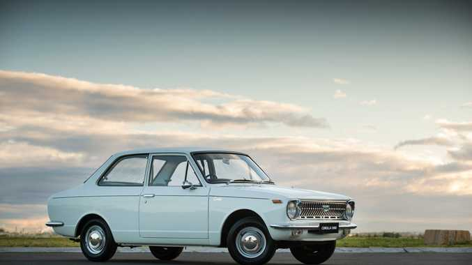 First generation 1967 Toyota Corolla. Photo: Contributed