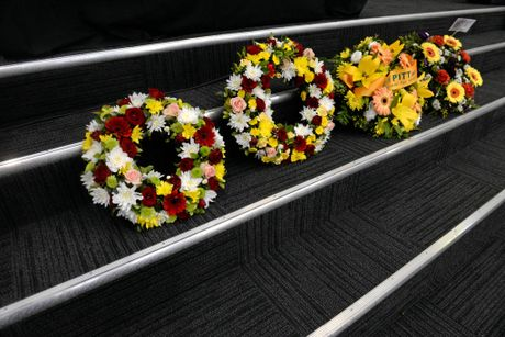 LAYING OF WREATHS: The North Coast Region Firefighters Commemorative Service.