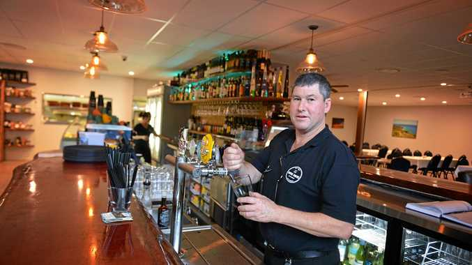 Owner Michael Read hopes to bring a vibrant atmosphere to Rainbow Beach.