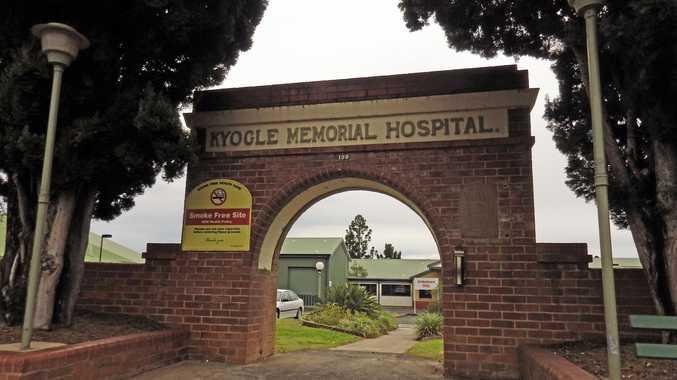 Kyogle Memorial Hospital has seen nursing duties taken over by security staff.
