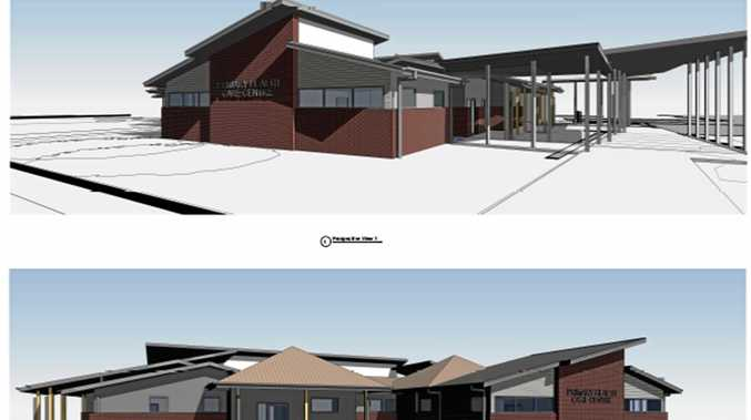 UPGRADE: Artist's impression of the new medical centre at the Miles Hospital.