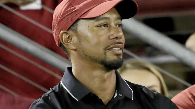 Although feeling strong and healthy, Tiger Woods says his game is not where he needs it to be.