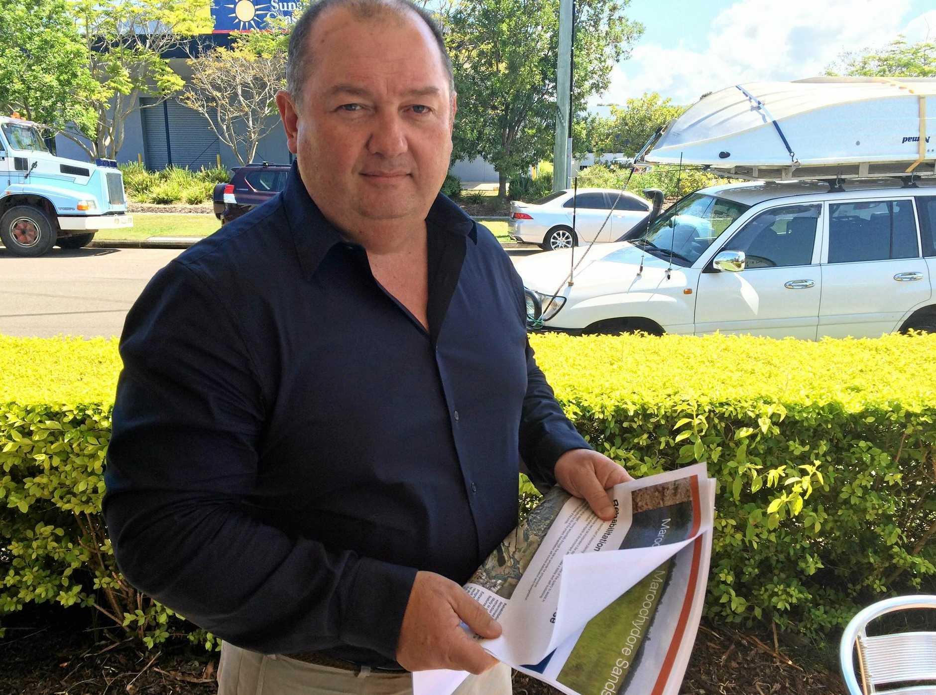 PROPONENT: Maroochydore Sands Pty Ltd director Michael Mullins.