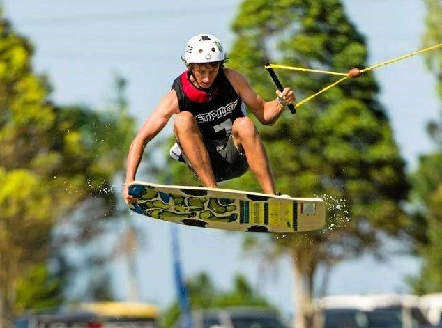 AIR TIME: Cody Murphy is among the nation's best wakeboarders.